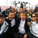 Ali, Lukas, Enrico und Jule