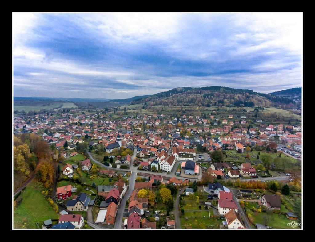 Steinbach-Hallenberg aus 100m Höhe